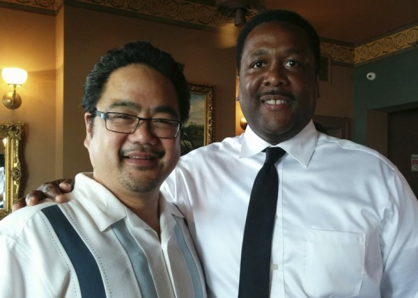 Me and Wendell Pierce - Go see Selma!