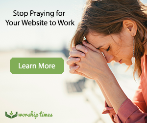 Worship Times Web Design